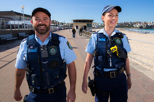 NSW Police equipped with body cameras